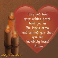 May God heal your broken heart ♥ - Ally Donaldson - Let's Live ...